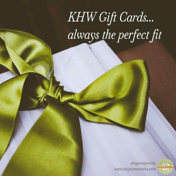 Kentucky Hemp Works Gift Cards
