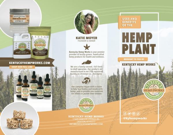 Benefits Hemp Plant Brochure