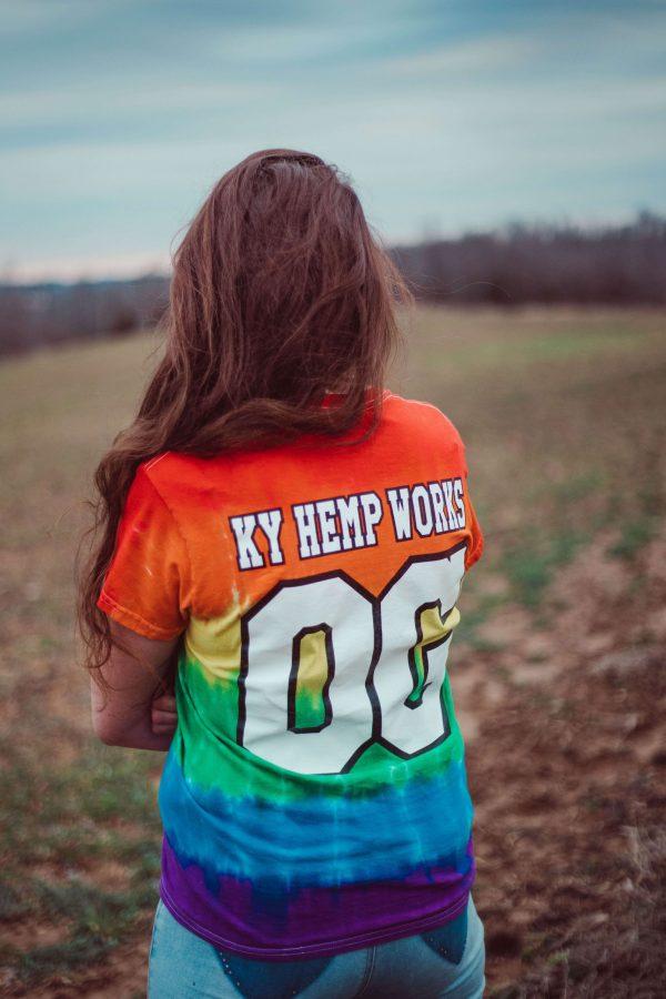Tie-dye Got Hemp T-shirt back