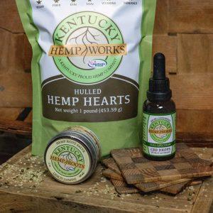 Wellness Bundle; Hemp Hearts; Hemp Root Salve; CBD Drops