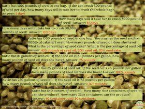 Hemp Homeschool - Crushing Seeds for Oil