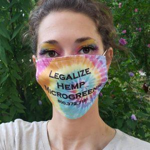 Legalize Hemp Face mask