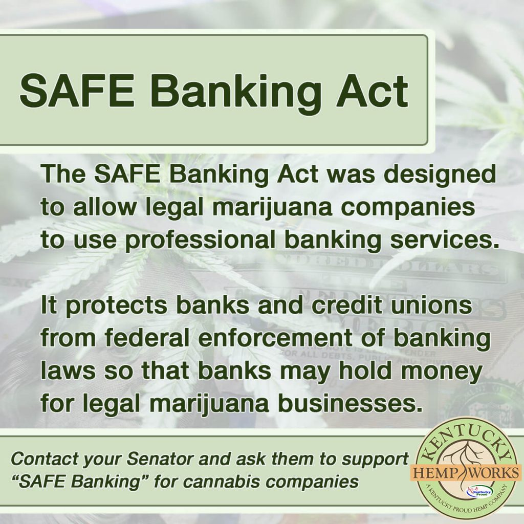 SAFE Banking Act Update